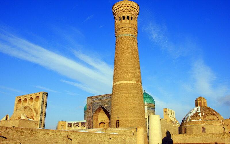 Узбекистан - путешествия и прочее — LiveJournal Минарет Калян