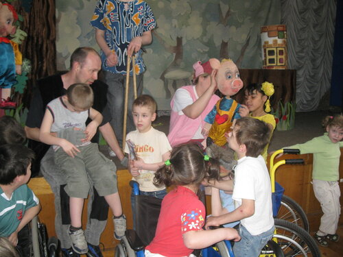 Благотворительный фонд только лучшее детям в детском доме для детей с дцп