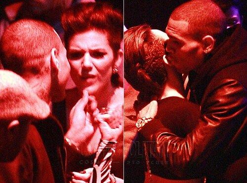 Крис Браун, те же грабли по отношению к Рианне?