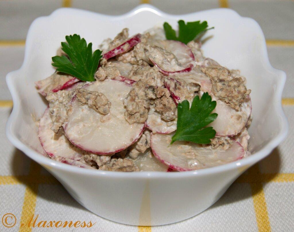 Салат по-сорокски. Молдавская кухня