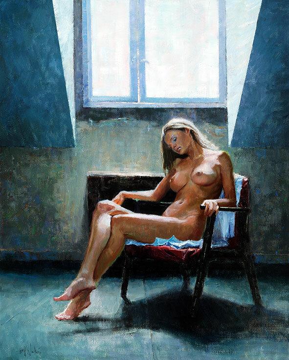 Работы современного американского художника Eric Wallis