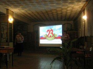 23 февраля 2013г Праздник в Рябчинском клубе.
