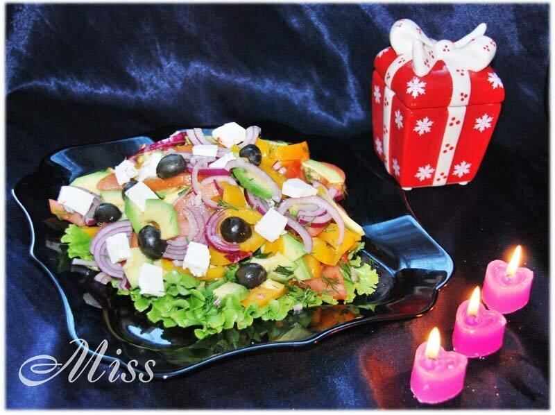 Вкусный салат с авокадо Само совершенство