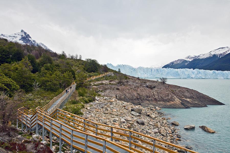 12. Устоявший перед потеплением. Ледник Перито Морено.