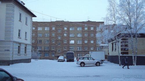 Фото города Инта №2475  Полярная 16, 14а и 14 06.01.2013_13:28
