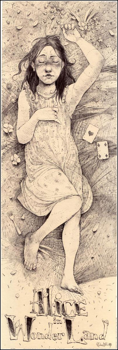 Giovanni Robustelli, Alice in Wonderland