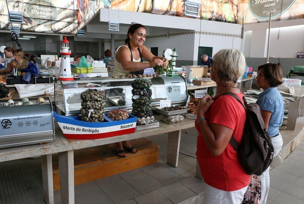 Назаре. Муниципальный рынок (Mercado Municipal da Nazaré)