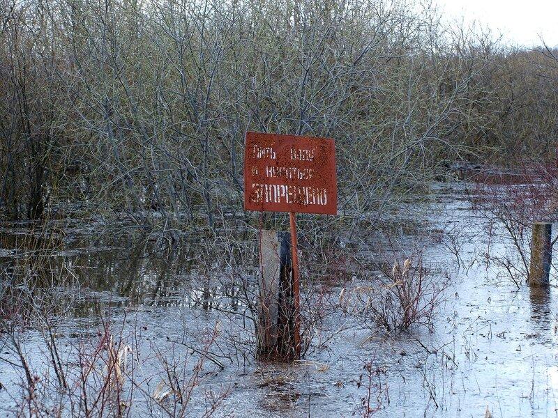 Пить воду и купаться запрещено! P4261013