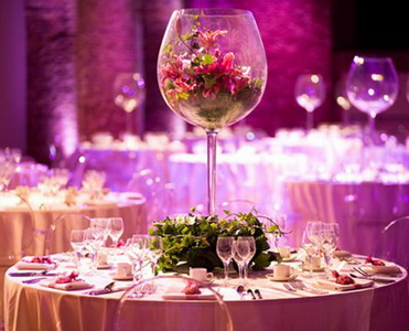 Оригинальный декор на свадьбу