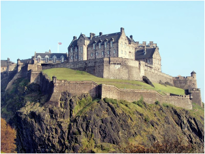 Эдинбургский замок-крепость - Edinburgh Castle-Fortress