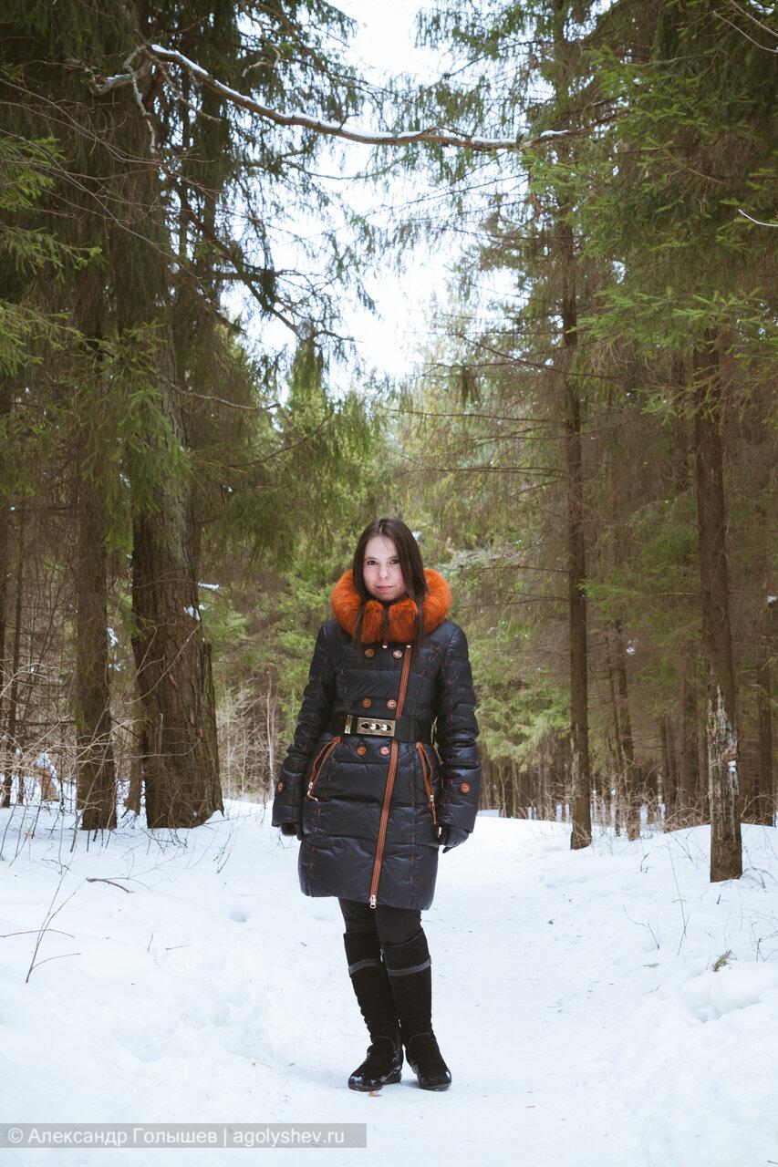 Фотопрогулка в зимнем лесу