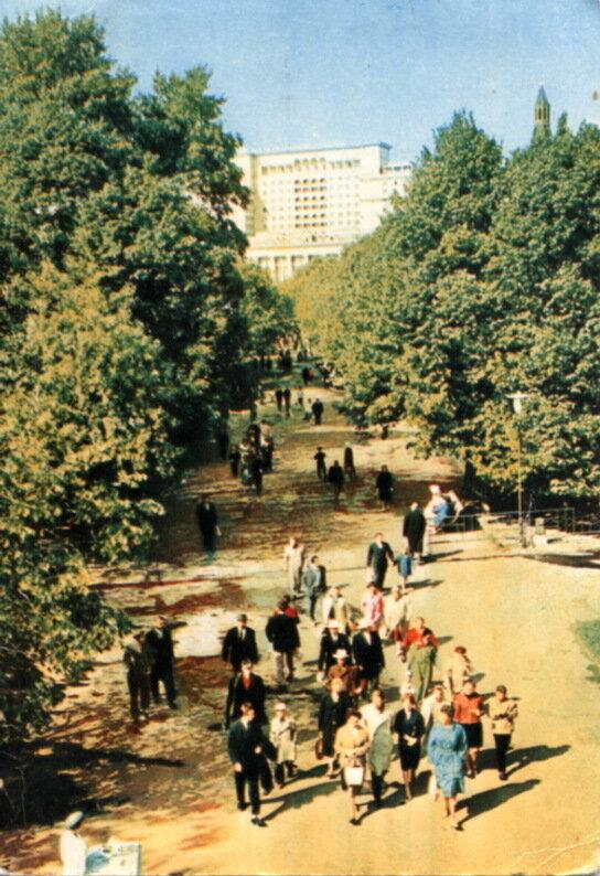 Александровский сад, Фото Д. Бальтерманца, 1965.