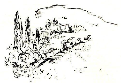 Артек, Морской лагерь, рисунок
