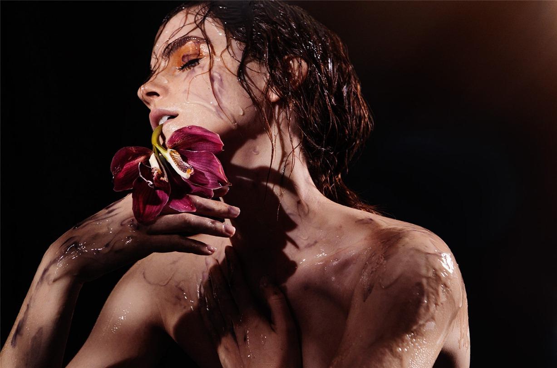 Emma Watson / Эмма Уотсон в проекте Естественная красота / Natural Beauty by James Houston