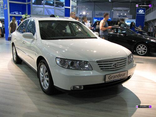 Hyundai Grandeur теперь уже и в России