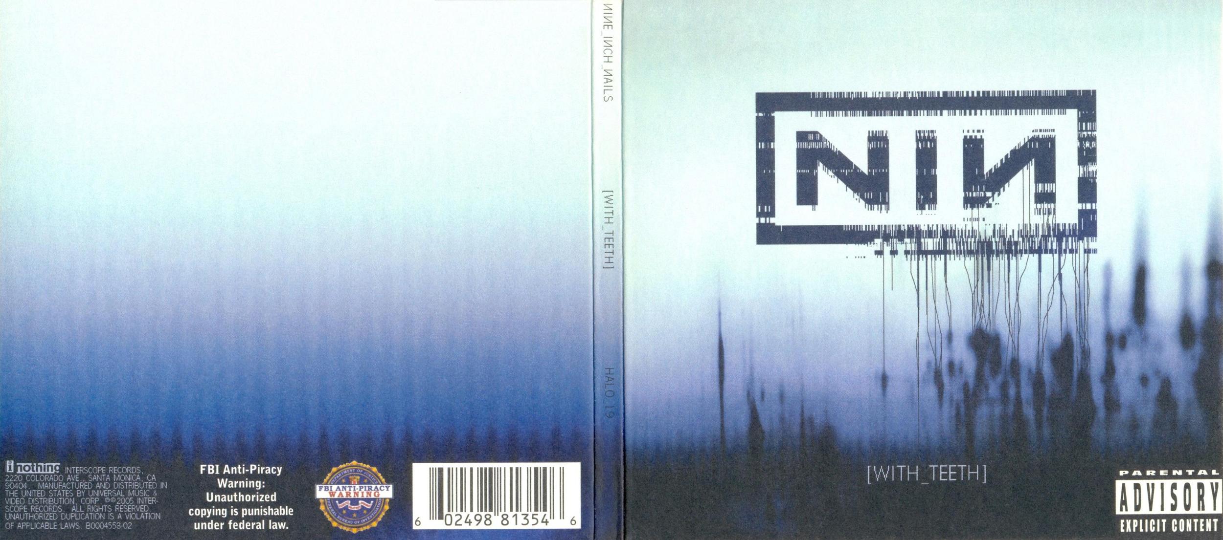 nine inch nails, with teeth album art | matt\'s graphic background ...
