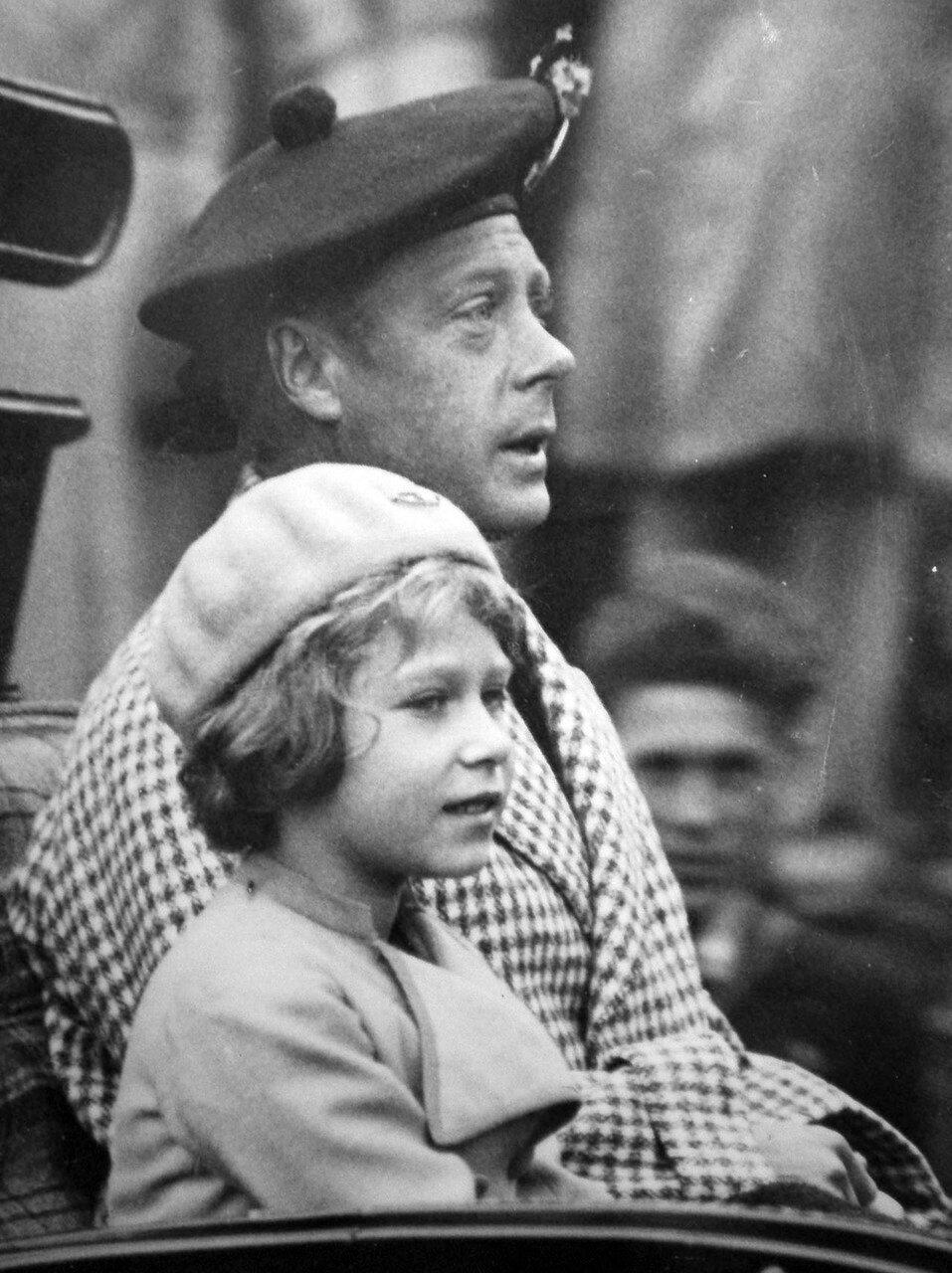 1933. Принц Уэльский и принцесса Елизавета