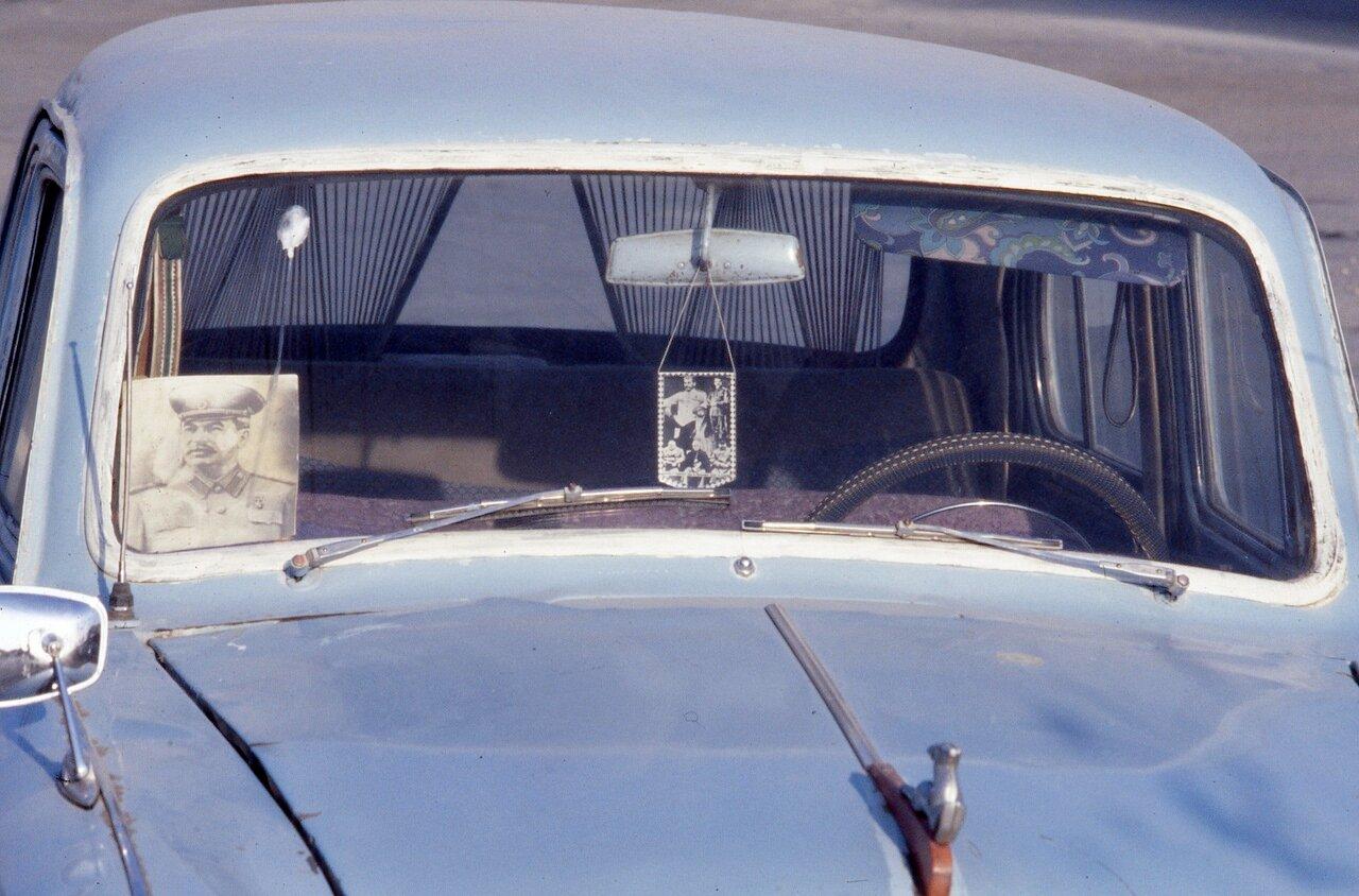 Оберег на машине