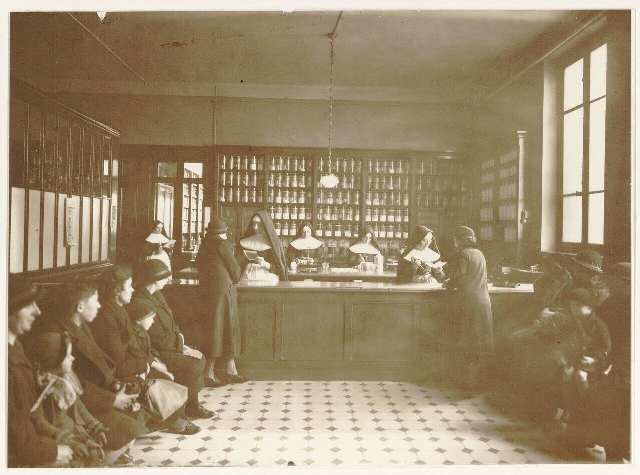 Аптека в здании Госпиталя