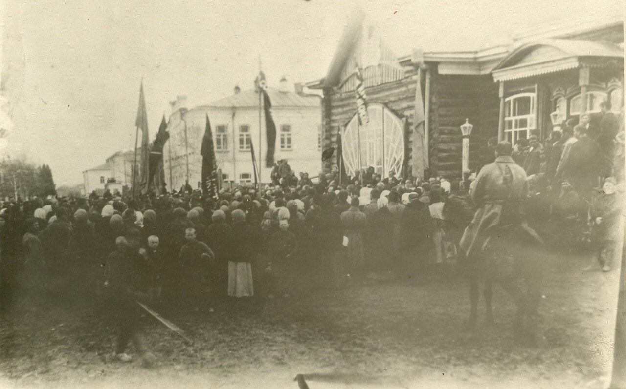 Митинг кузнечан