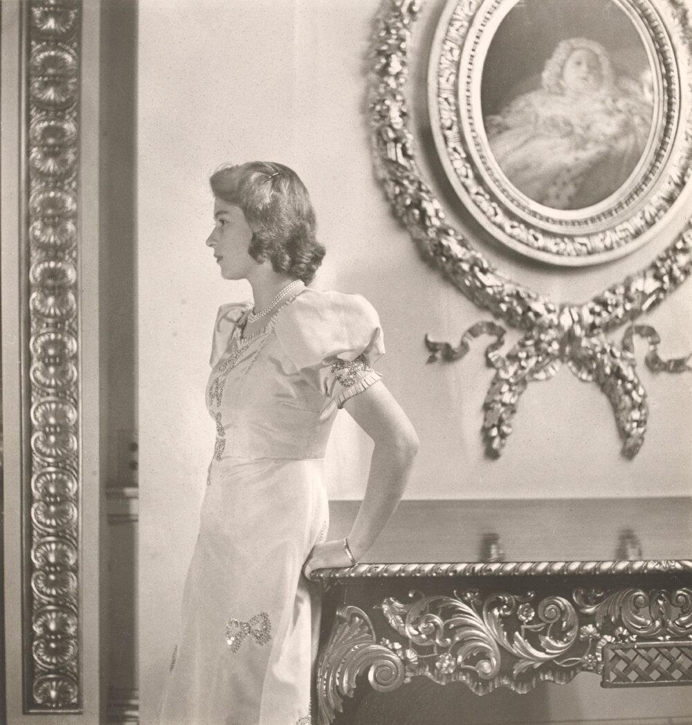 Принцесса Елизавета, Букингемский дворец. окт. 1942 г.