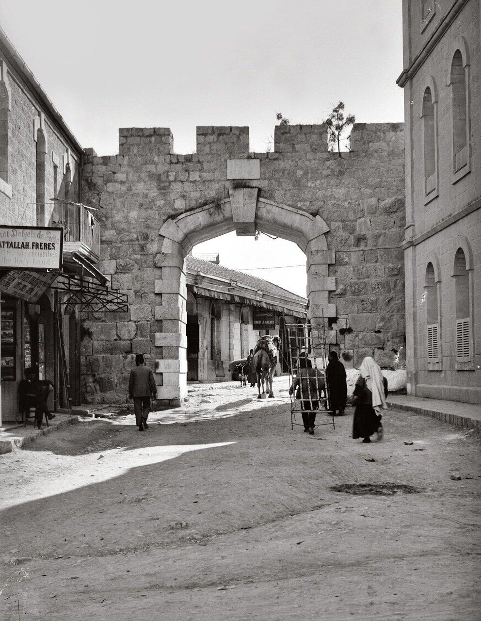 Дамасские ворота и  окрестности. Иерусалим. 1900-1920