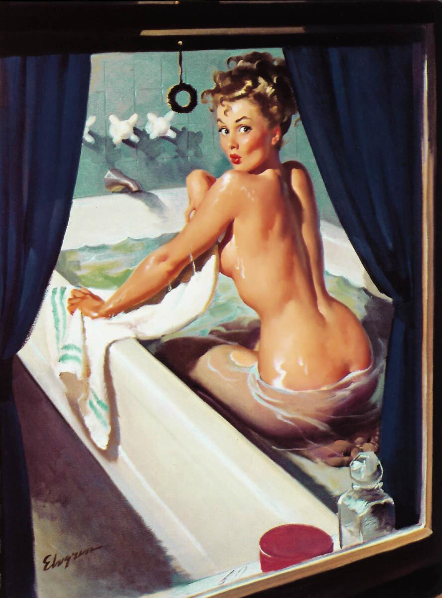 Пышка в ванне фото 741-5