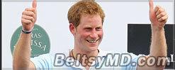 Принц Гарри прокомментировал свои «голые» фото