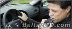 В Бельцах за два часа были задержаны 14 пьяных водителей