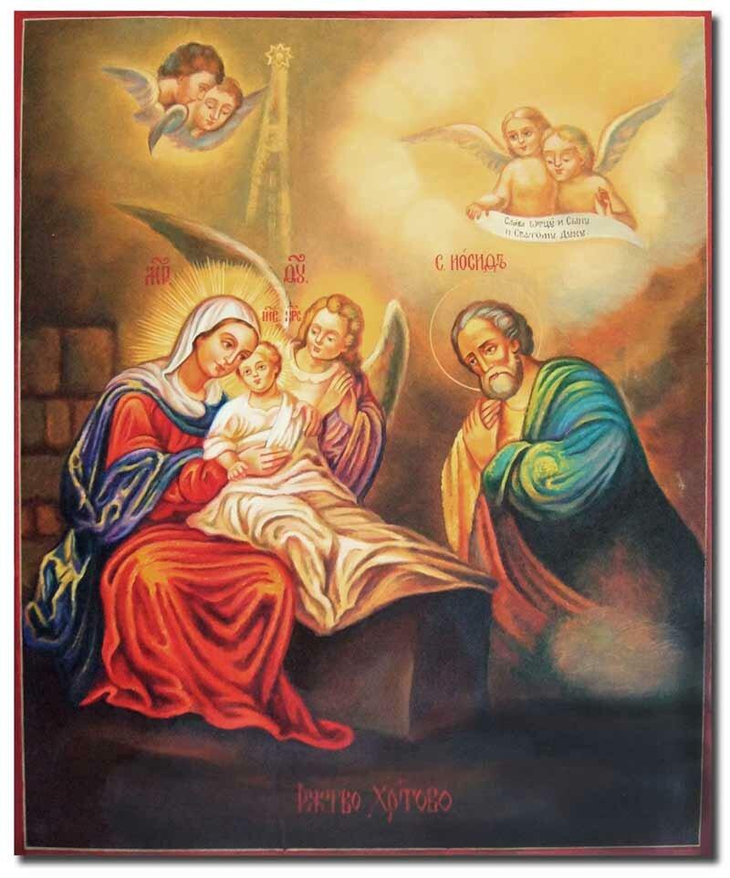 икона рождество: