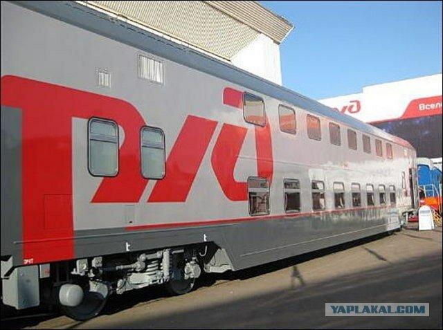 В Мурманской области испытали первые двухэтажные вагоны