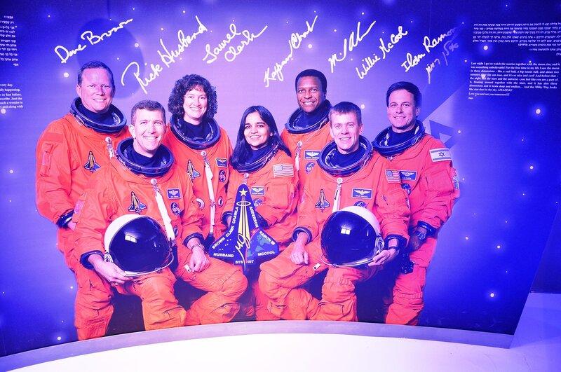 Первый и единственный космонавт Израиля.