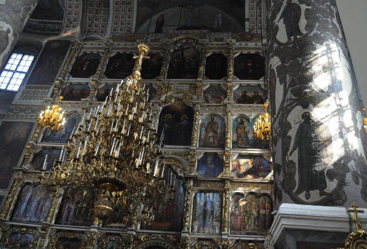 Донской монастырь самое интересное в