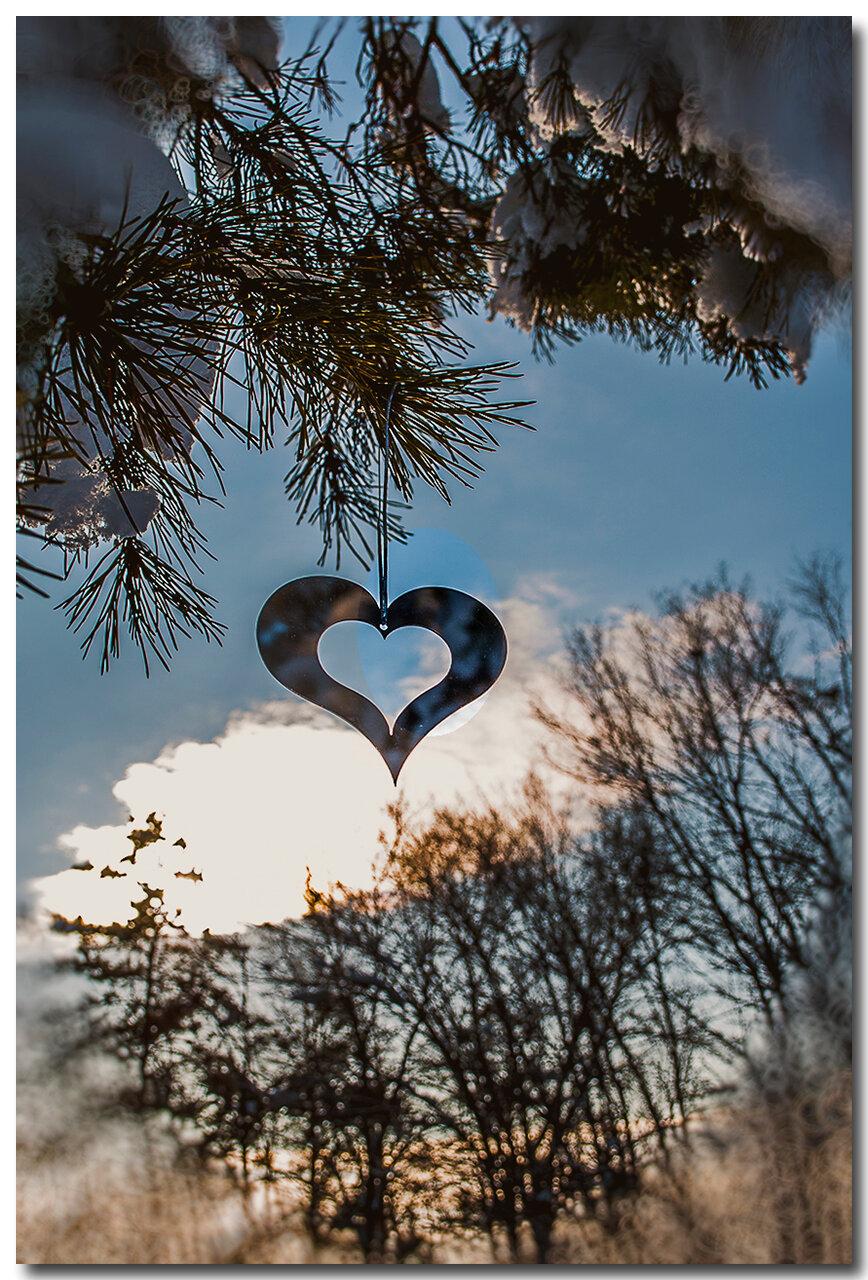 зимнее сердечко