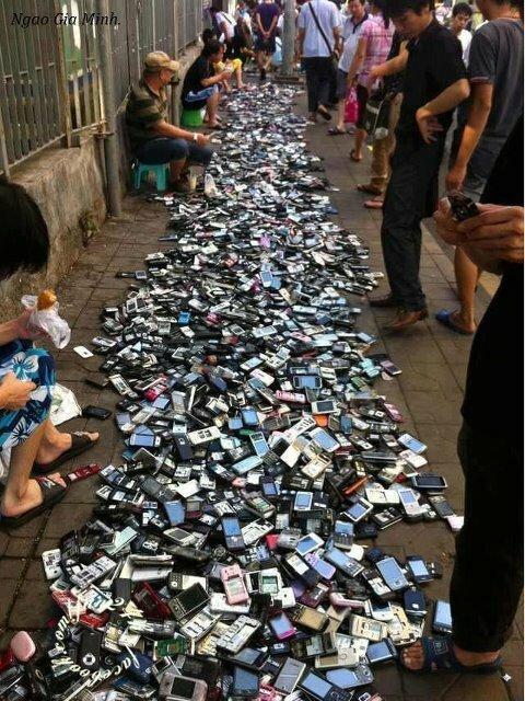 Китайский рынок мобильных телефонов