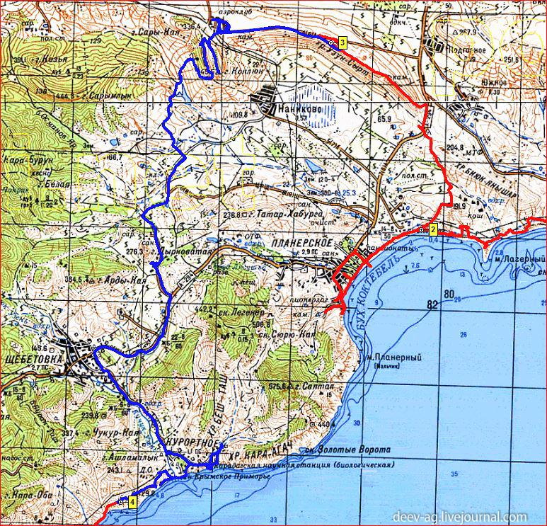 Крым. Май-июнь 2015г. 27 мая, день 4.