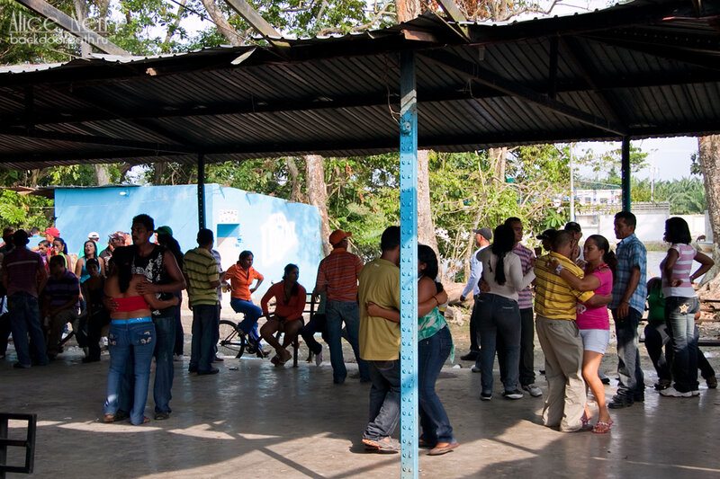 дискотека на пристани, кататумбо, венесуэла