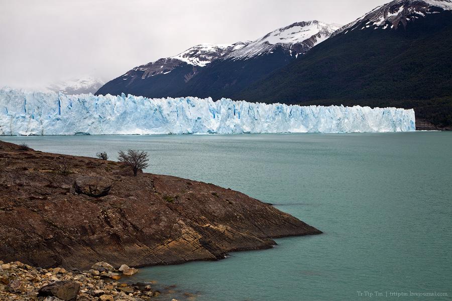 7. Устоявший перед потеплением. Ледник Перито Морено.