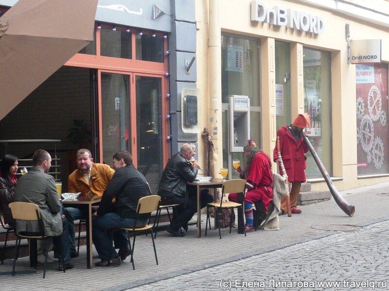Вильнюс. Уличные музыканты