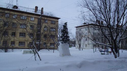 Фотография Инты №2737  Гагарина 5 и 3 31.01.2013_13:13