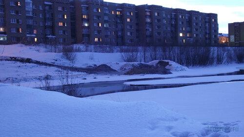 Фото города Инта №3294  Полярная 10 и 14а 04.02.2013_16:33