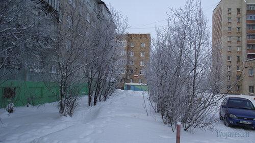 Фото города Инта №3461  Мира 65, 69, 59 и 59а 10.02.2013_12:54