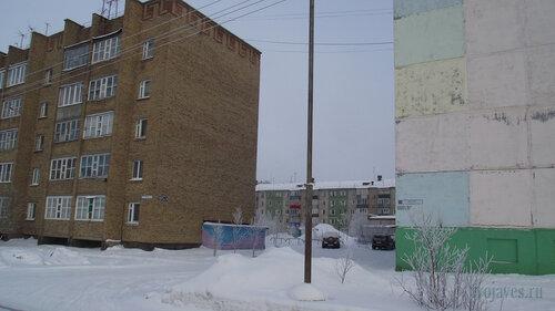 Фото города Инта №3495  Морозова 14, Мира 67 и Морозова 12 10.02.2013_12:04