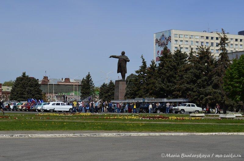 Парад ретро-автомобилей, Саратов, 08 мая 2013 года