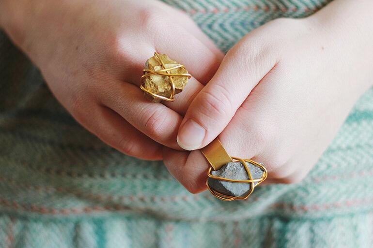 Как самому сделать кольцо