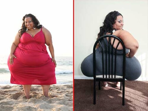 Самая толстая женщина мира 500 кг