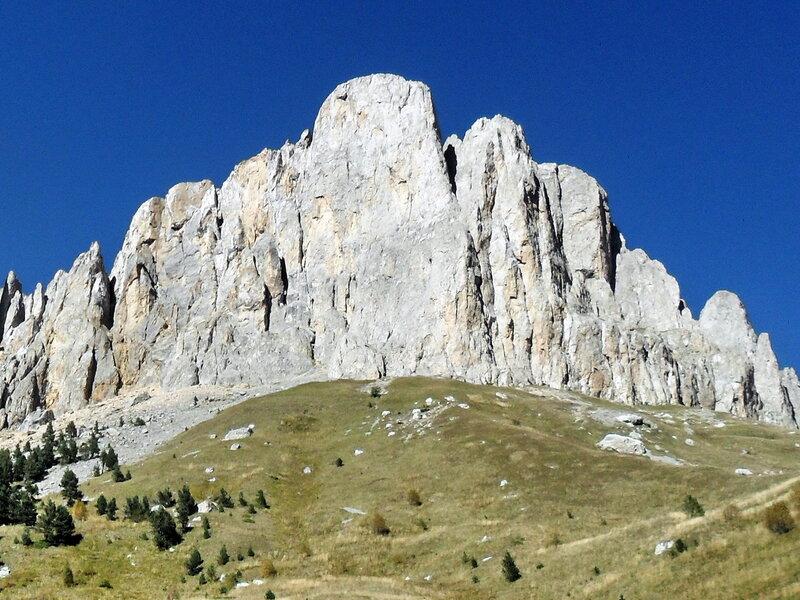 В горах, поход на Большой Тхач, сентябрь