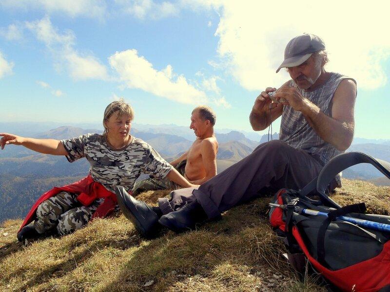 Фотографии Светланы Левады, Кавказ, БольшойТхач, сентябрь 2012