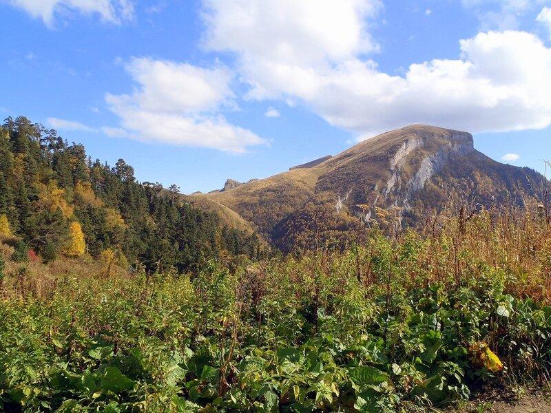 Фотографии Светланы Левады, Кавказ, Тхач, сентябрь 2012