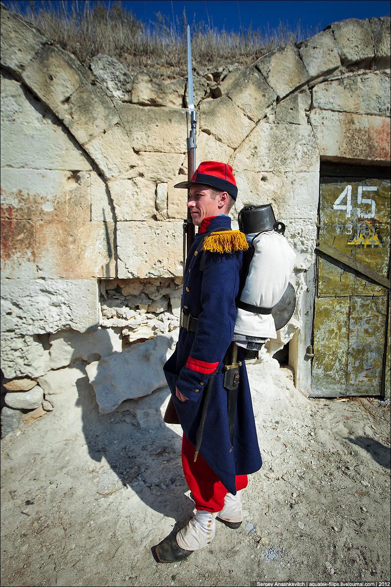 Французский вольтижер времен Крымской войны